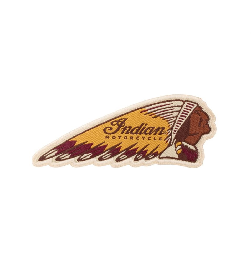 INDIAN COLORED HEADDRESS PATCH