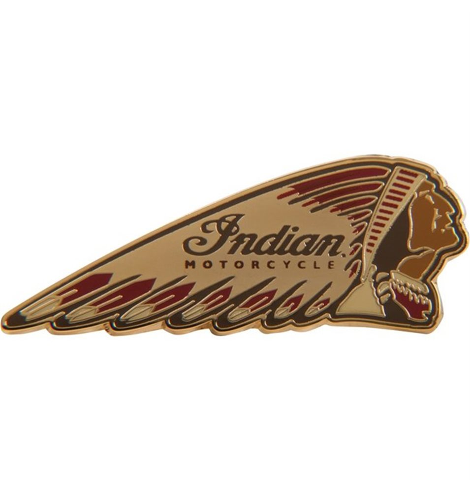 INDIAN COLORED HEADDRESS PIN