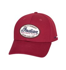 INDIAN IMC PATCH HAT, RED