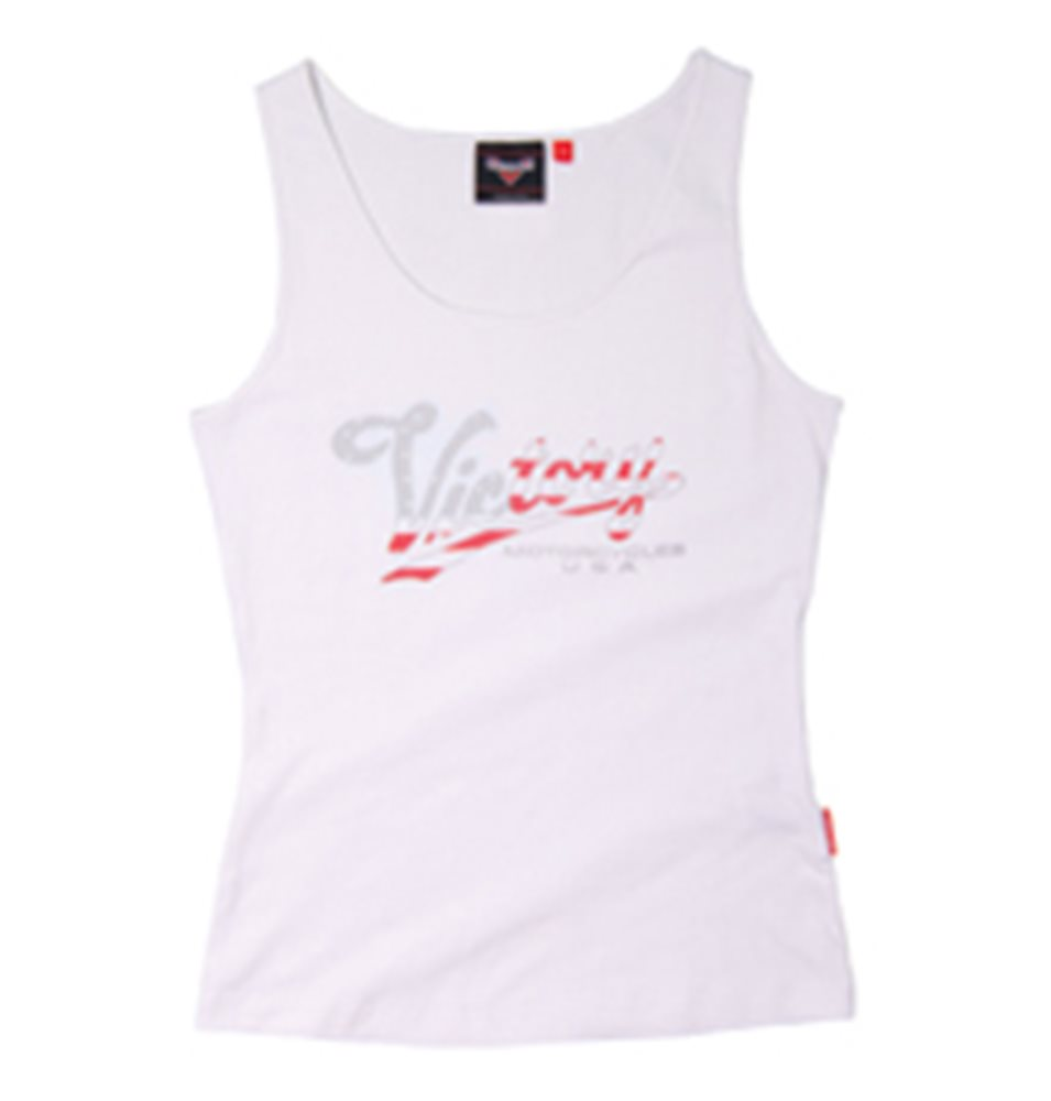 VICTORY TANK TOP WHITE
